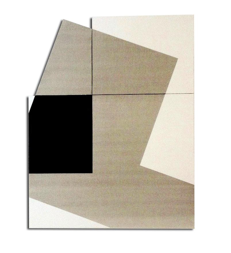 Colle de peau + pigments et acrylique sur toile - Format 150x110x4 cm