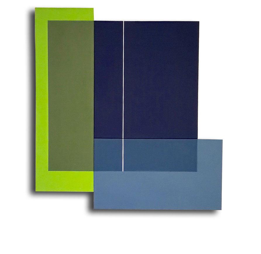 Acrylique sur toile - 97 x 90 x 3 cm. - 05/2017