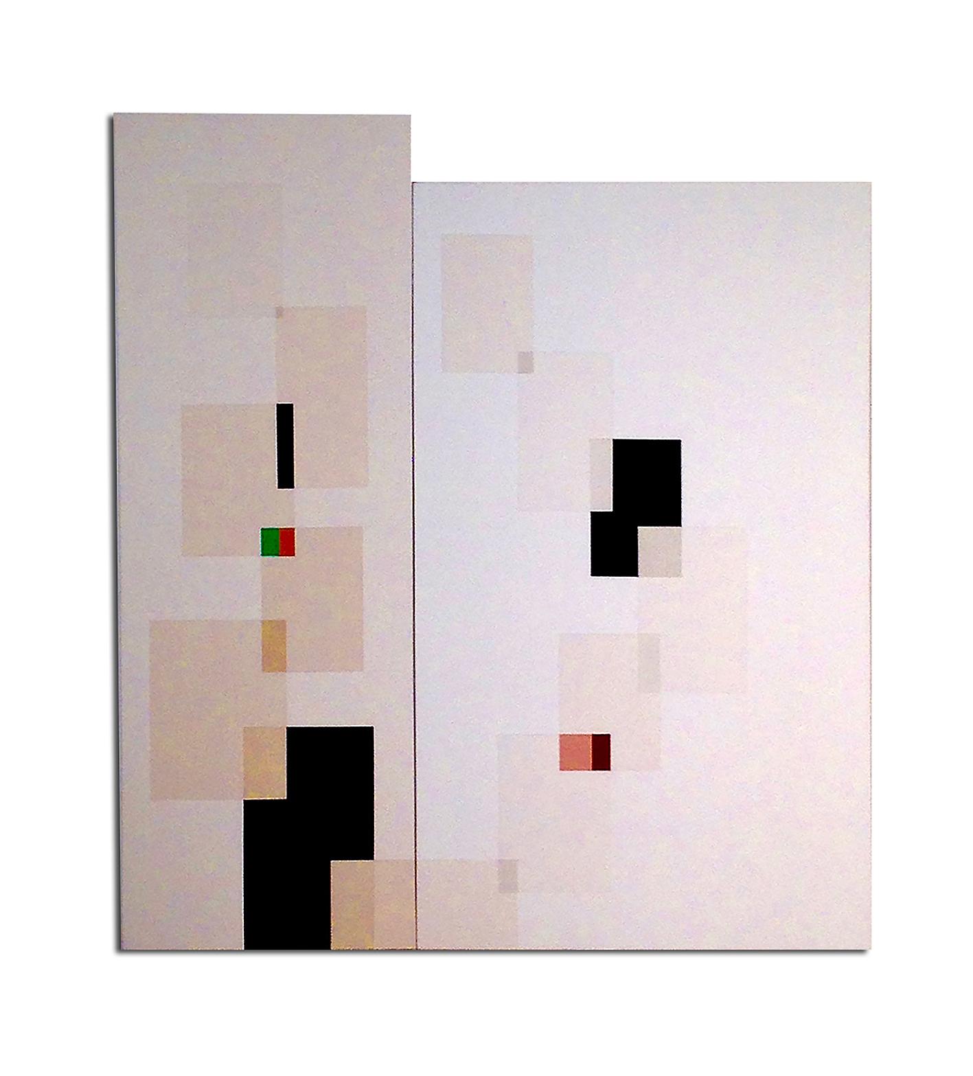 Acrylique sur toile -  110 x 85 x 4 cm