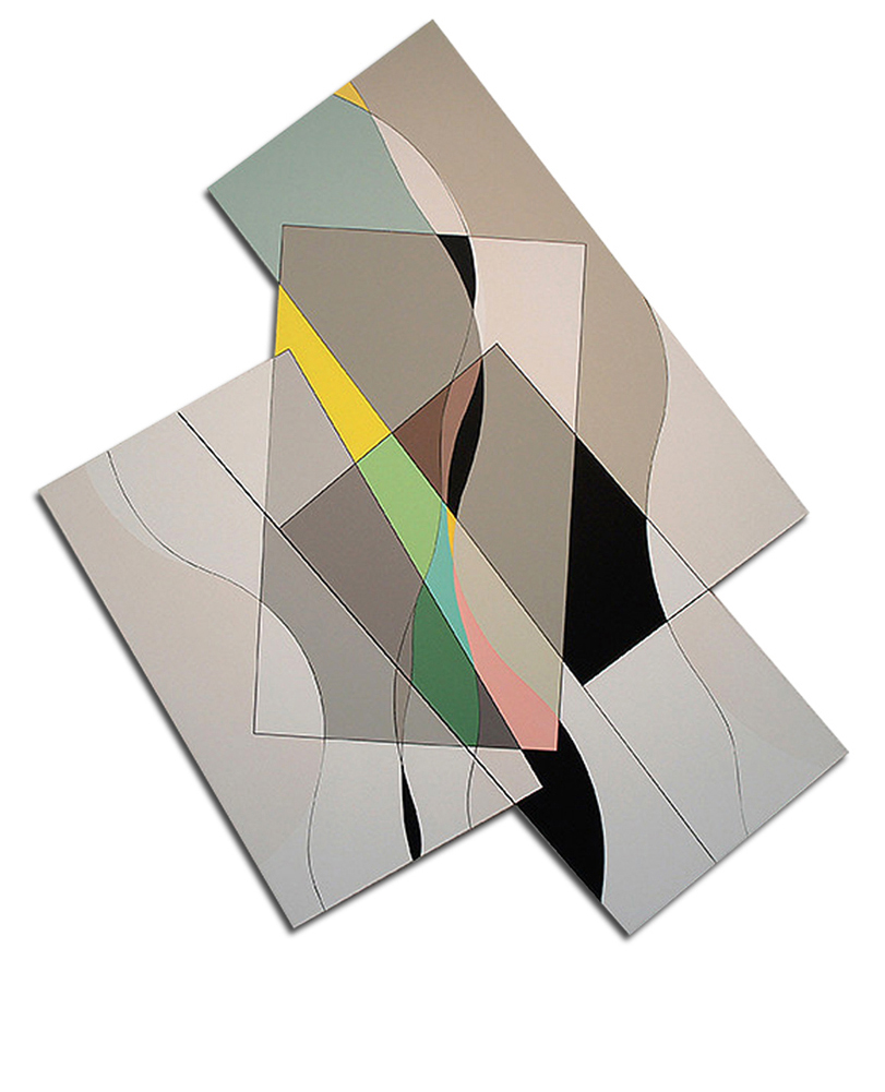 Acrylique sur toile - 150x130x4 cm