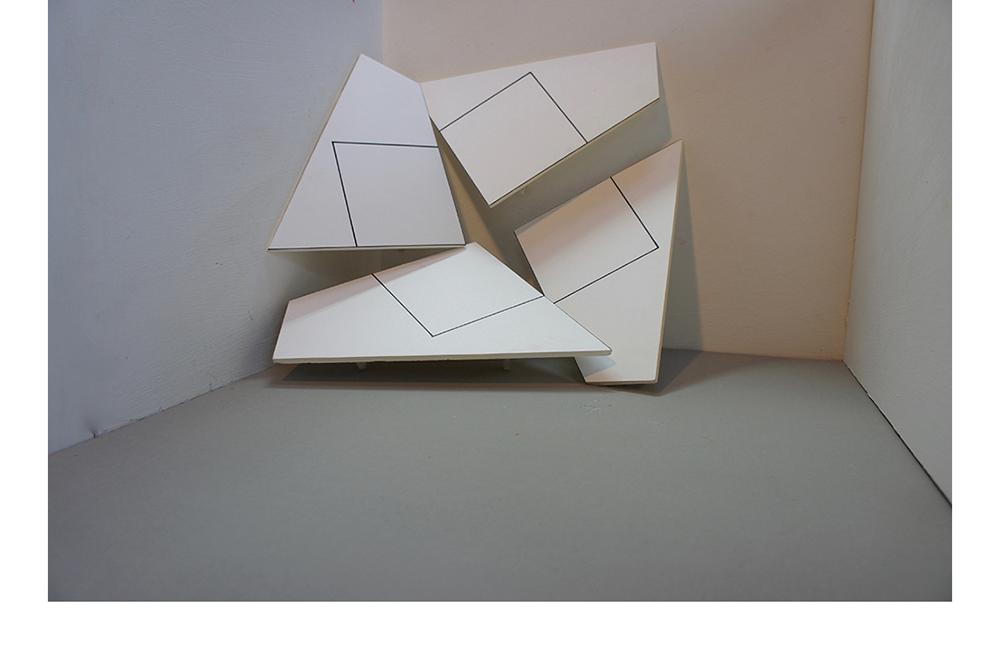 Acrylique sur toile 250x250 cm