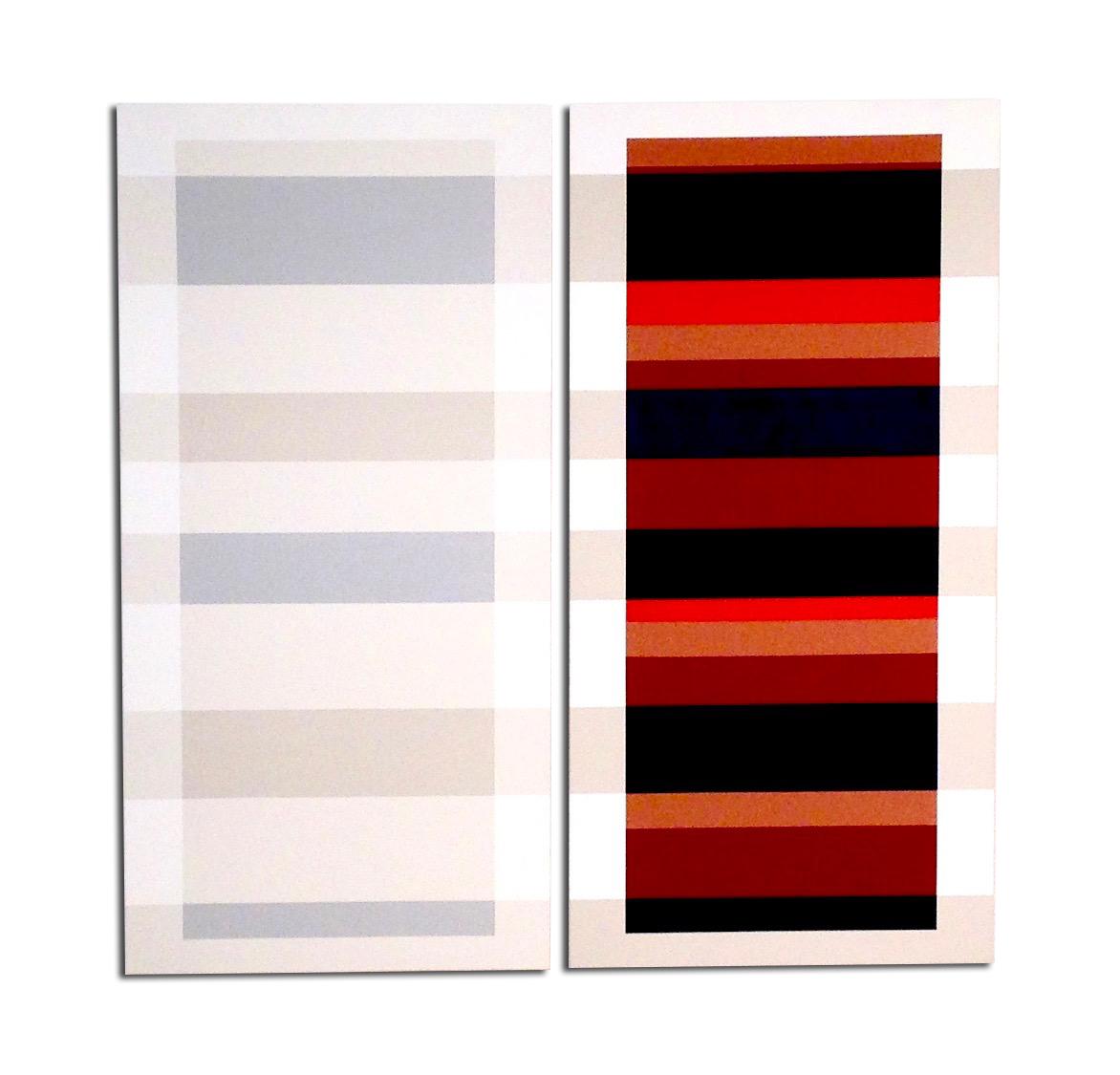 Acrylique sur toile dyptique  - 130 x 110 x 4 cm
