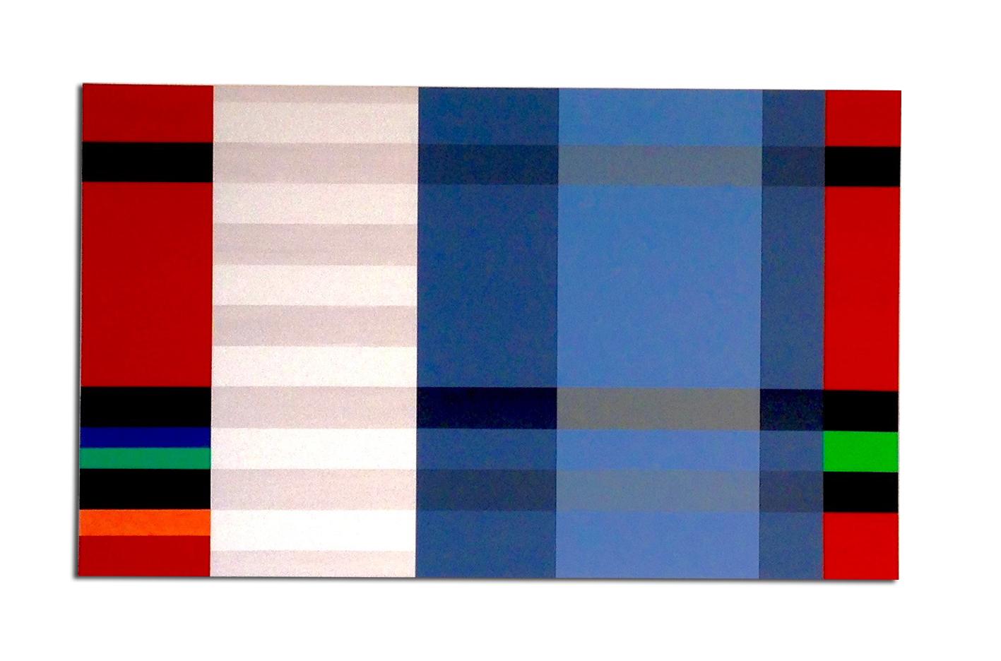 Acrylique sur toile - 80 x 120 x 4cm