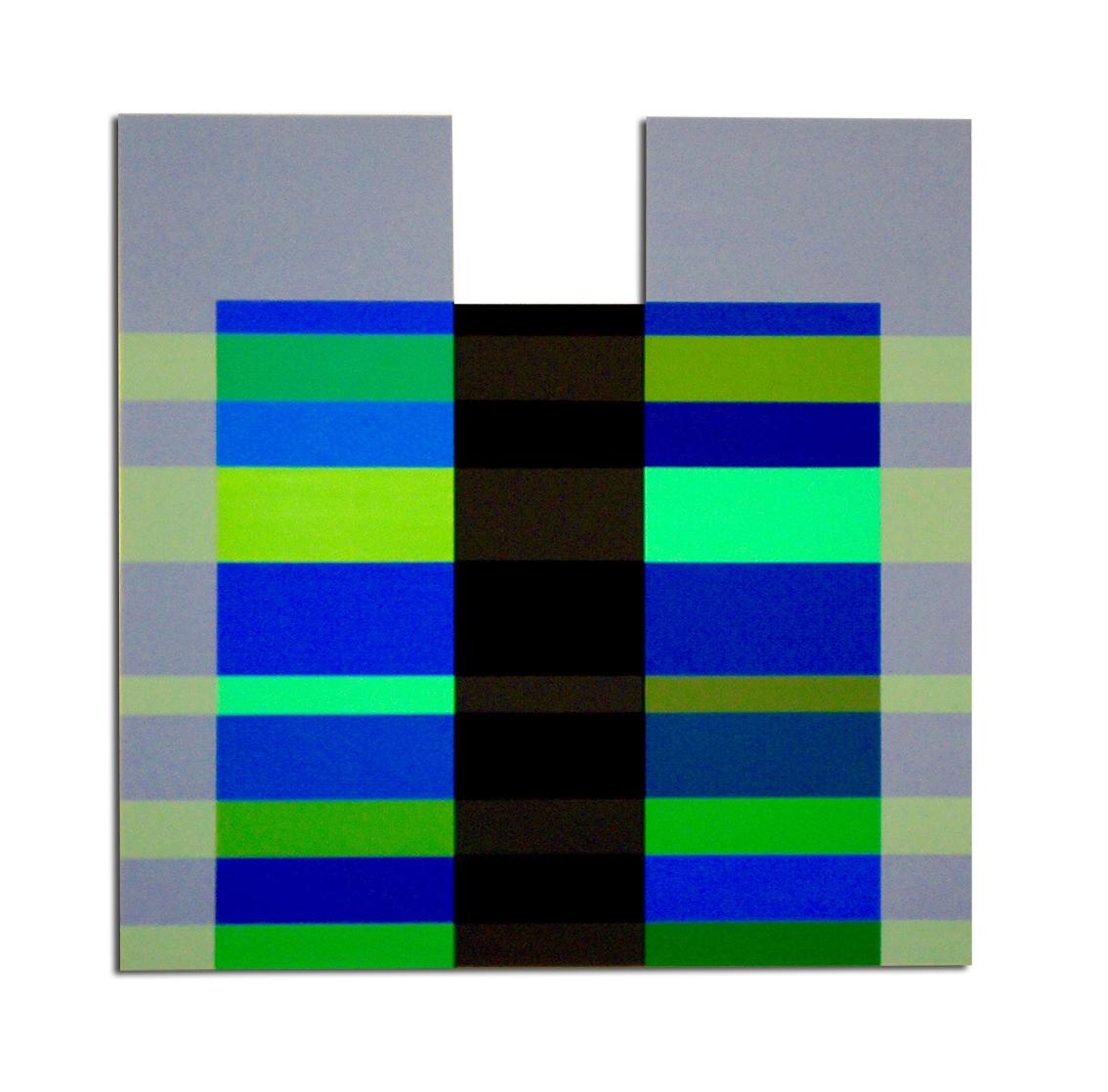 Acrylique sur toile - 90x72x3 cm