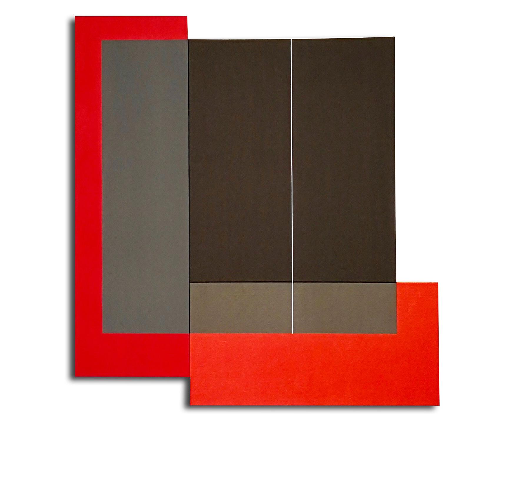 Acrylique sur toile - 95 X 88 X 3cm -  05/2017