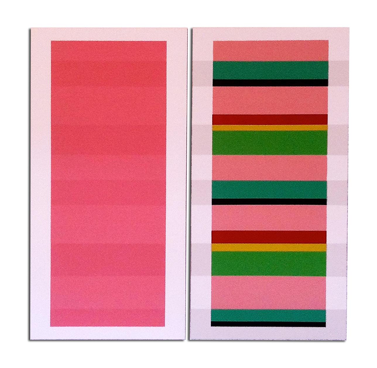 Acrylique sur toile - dyptique - 130 x 110 x 4 cm