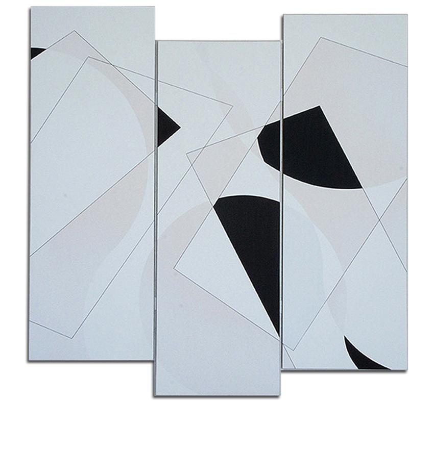 Acrylique sur toile tryptique - 150x126x4 cm