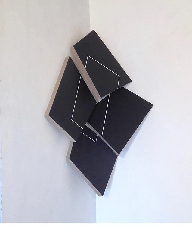 Acrylique sur toile - 120x90x50 cm