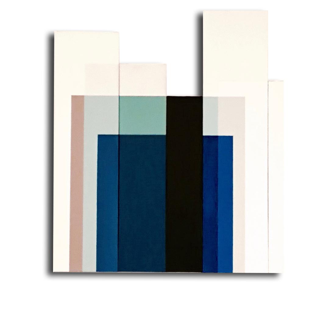 Acrylique sur toile -  82 X 73 X3 cm