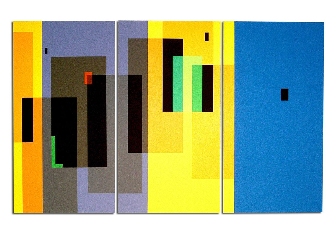 triptyque   - 150 x 90 x 4 cm