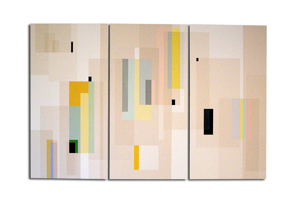 triptyque - Acrylique sur toile - 150 x 90 x 4 cm