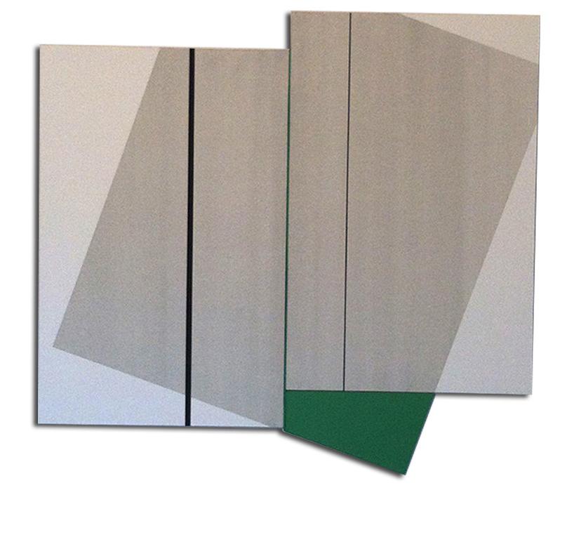 Colle de peau + pigments et acrylique sur toile - Format 120x140x4 cm