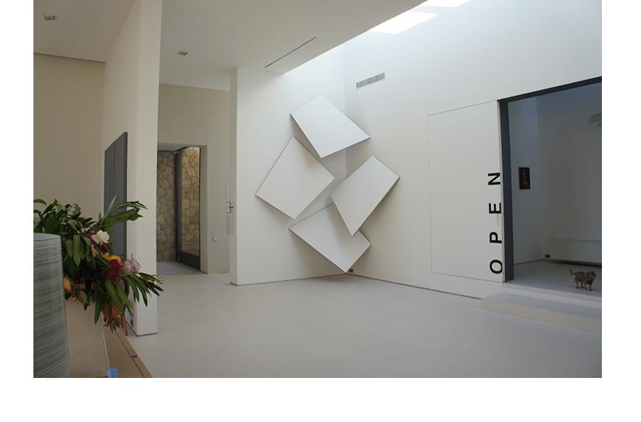 Acrylique sur toile - 350x350x150 cm