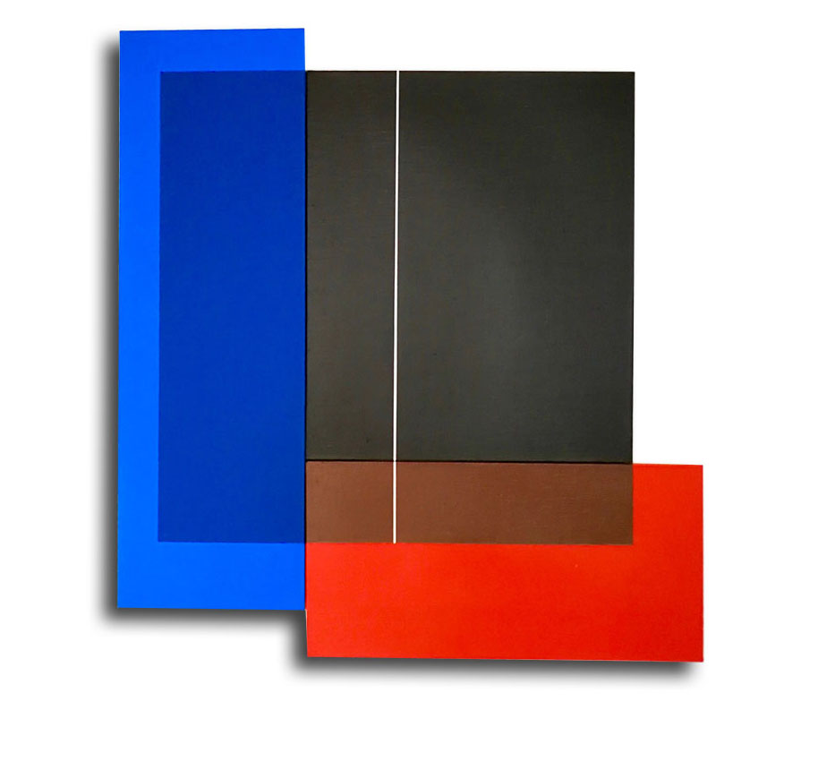 Acrylique sur toile - 73 X 69 X 3cm - 06/2017