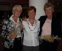 Hilde Wohlenberg (Mi.) und ihre Vorgängerinnen Magda Boie (li.) und Karin Siemen