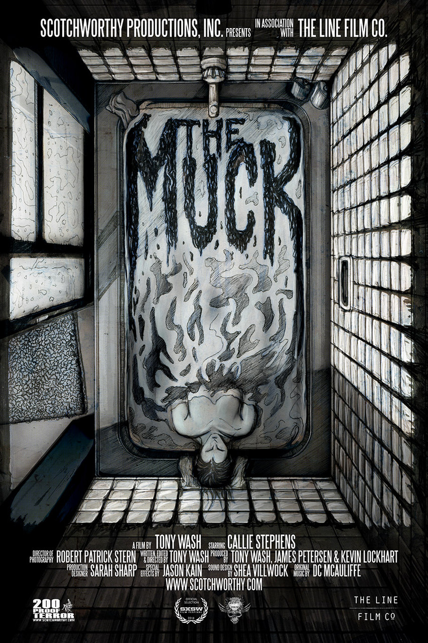 Ink added to The Muck poster.  Design by Brandon Duncan.