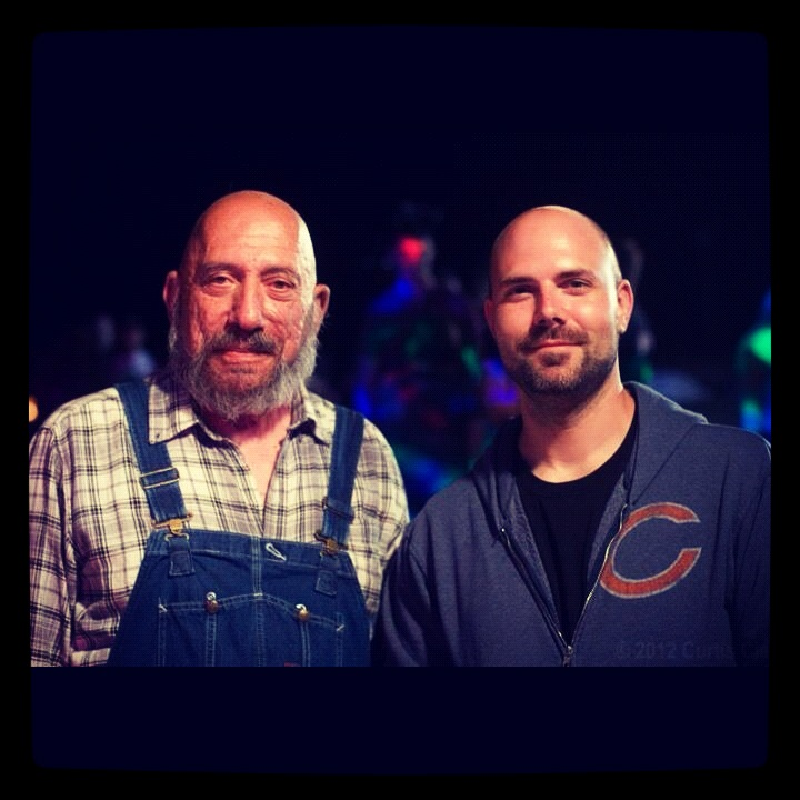Sid Haig and Tony Wash