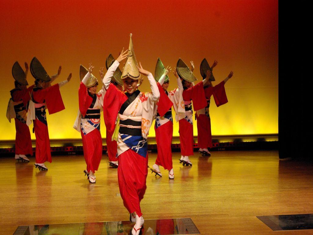 毎日阿波踊りが楽しめる阿波踊り会館