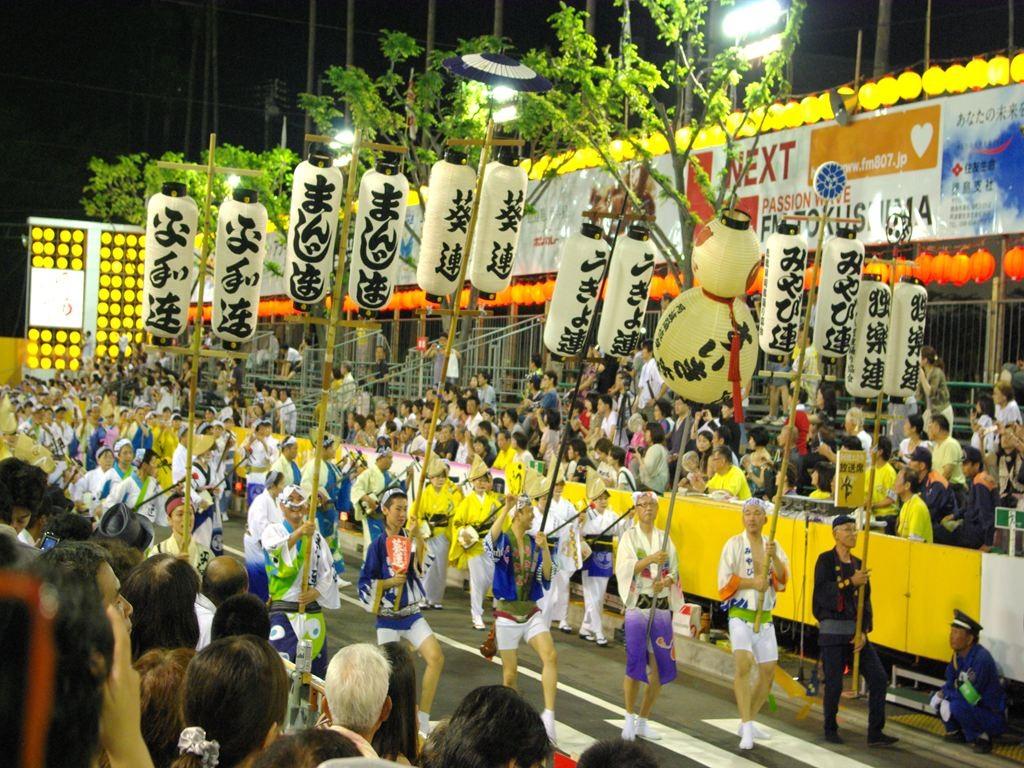 阿波踊り(15日の総踊り)