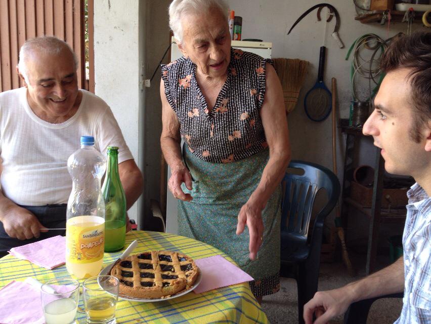 イタリア人の家族