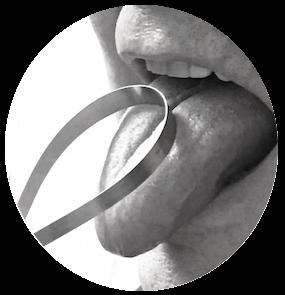 Anwendung Zungenreiniger
