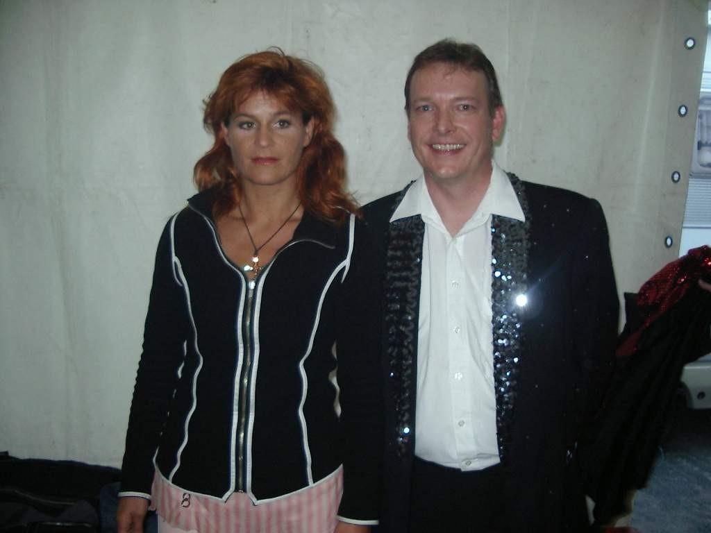 Michael Hofmann und Andrea Berg