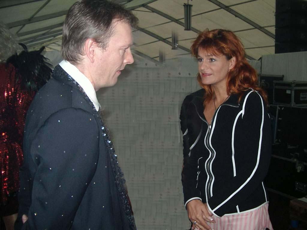 Michael Hofmann im Gespräch mit Andrea Berg