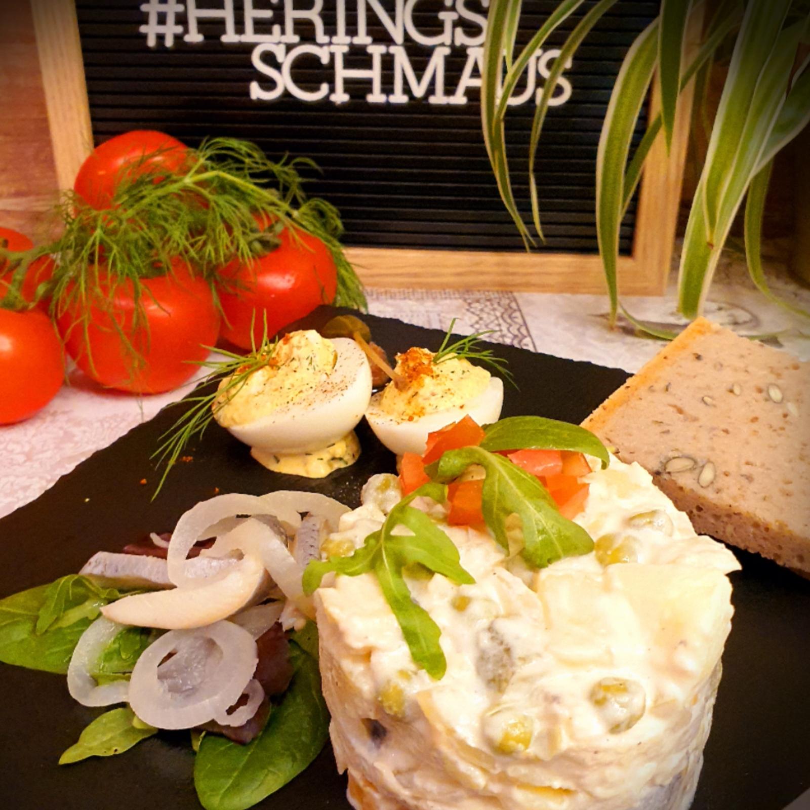 "Heringsschmaus - Spezialithek Heringssalat ""Hausfrauen Art"""