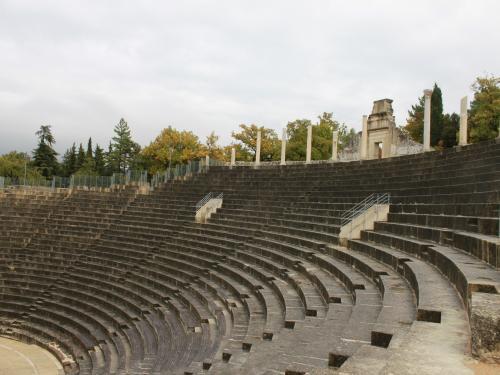 Le théatre antique de Vaison la Romaine