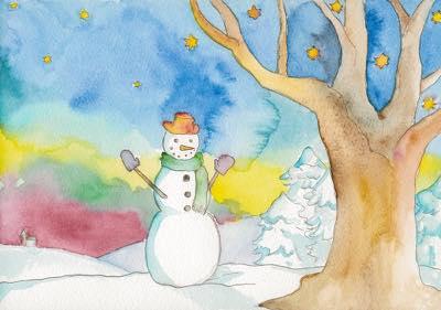 2013年作品「Snow man」