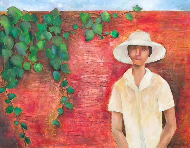 油彩画「夏の午後」の画像