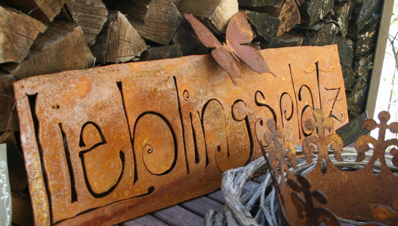 """Rostschild """"Lieblingsplatz"""""""