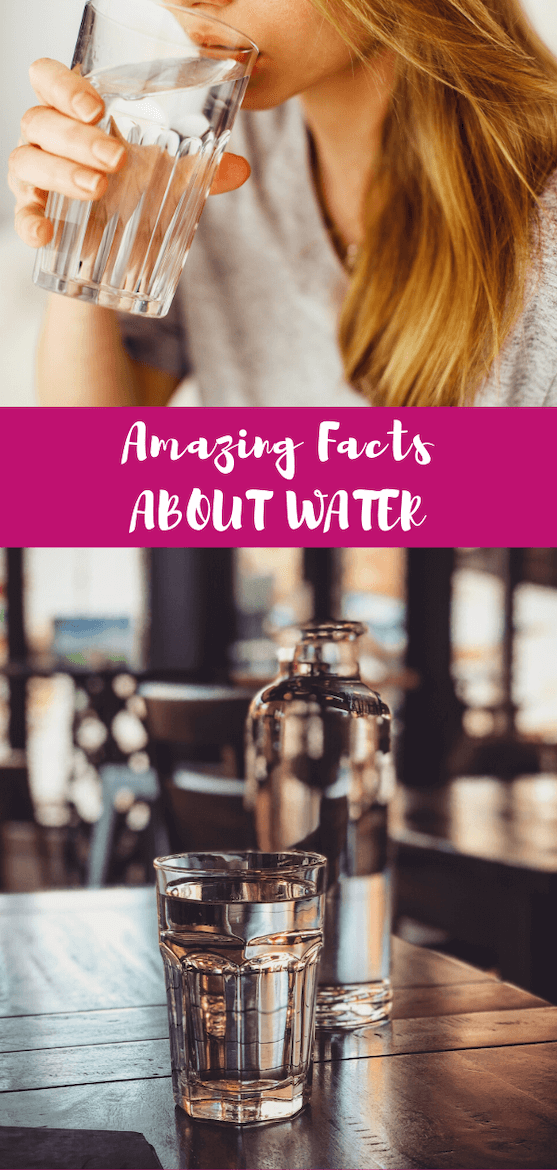 There's a lot more to the clear, odorless liquid you fill your cup with everyday! I'm about to blow your mind with some amazing facts about water you can impress guests with at a dinner party. #waterfacts #healthbenefits #drinkmorewater #funfacts