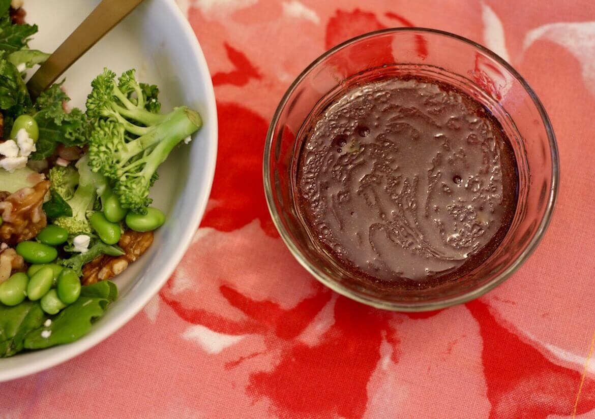 How to Make Healthy Salad Dressing with Grape Juice