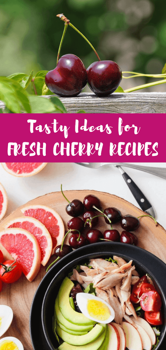 I'll show you how to cook with fresh cherries and how versatile they are. You can use them in smoothies, salad, dessert and more! #cherryrecipes #antioxidantfoods #howtocookcherries #healthyrecipes