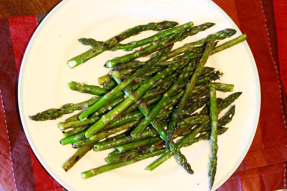Grilled Garlic Asparagus Recipe