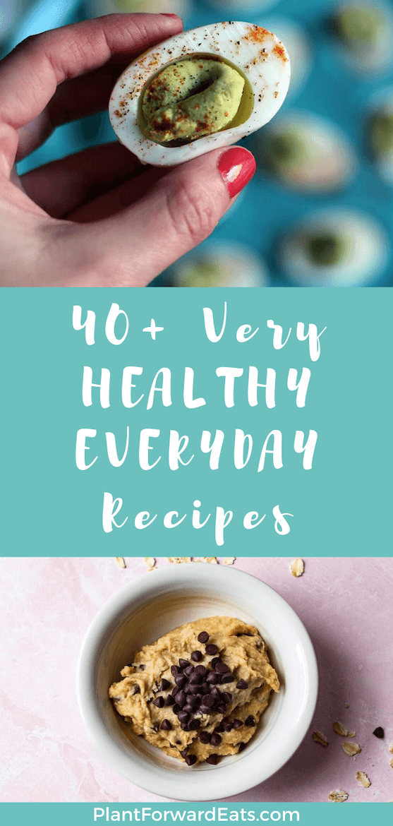 Want everyday healthy meals? These recipes are ones you can make for delicious everyday meals! From breakfast, to lunch, dinner, dessert and snacks, you're covered for healthy everyday meal ideas! #healthymeals #breakfast #lunch #dinner #dessert #snacks