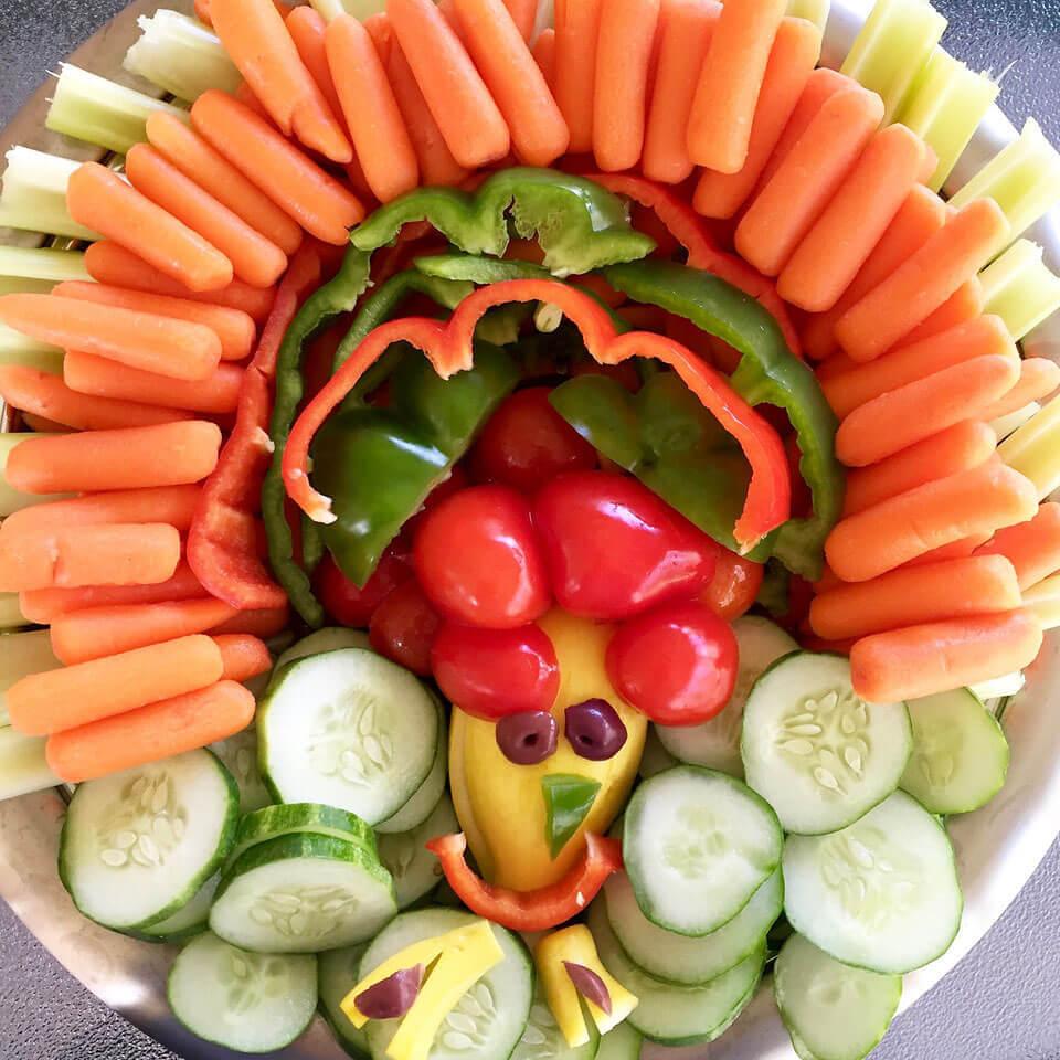 Thanksgiving Veggie Tray Ideas