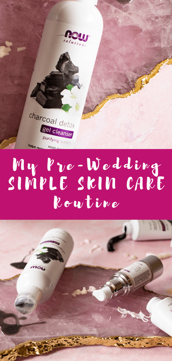 Need a bridal skin care routine for wedding skin prep? See how I'm getting ready for my wedding day w/ a spa day at home. #ad #skincare #skin #weddingprep #bridetobe #spaday #diyspa #weddingbeauty #bridalbeauty #sensitiveskin #naturalskincare #selfcare