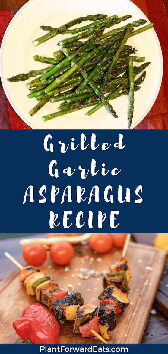 Looking for grilled vegetable recipes? This Grilled Asparagus with Lemongrass Garlic Rub is healthy and easy. It's one of the best side dishes for dinner!