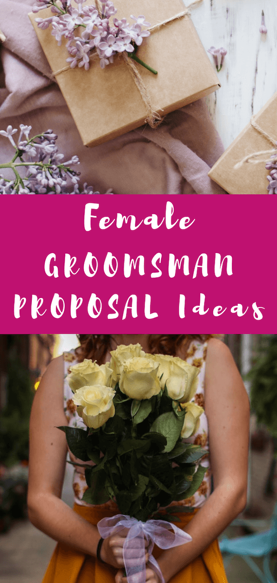 Need help with a groomswoman proposal? Here's how to ask a female groomsman or best woman to be in your wedding party. #wedding #proposal #proposalbox #groomswoman #groomsman #femalegroomsman #bestwoman #bestman