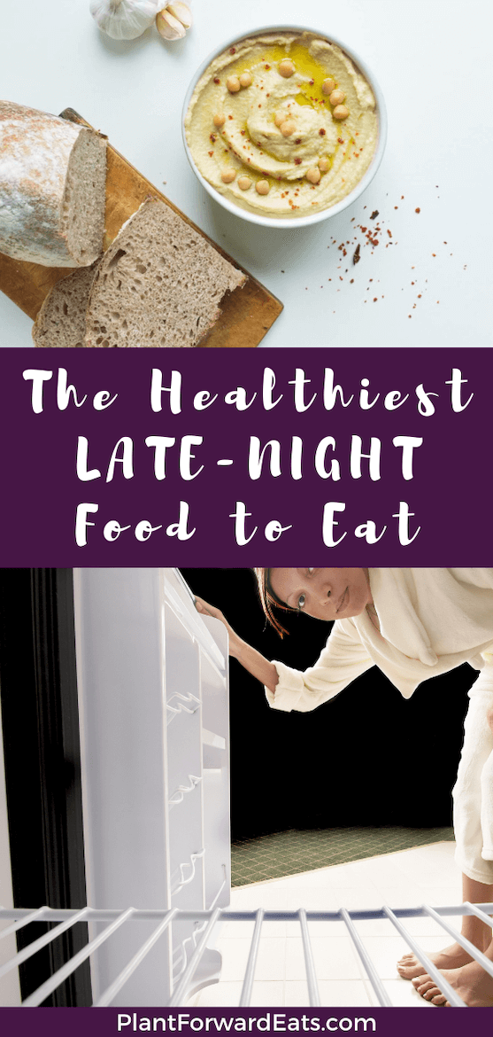 Before you raid the refrigerator, see what RDs say are the best foods for late-night snacking. These healthy snacks are nutritious and delicious! #amyseatlist #bedtimeroutine #latenightsnack #snacktime #rdeats
