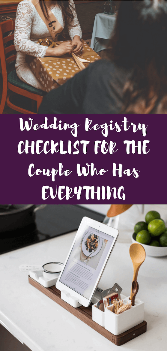 Want wedding registry ideas & bridal shower registry ideas? Use this bridal registry checklist & list of wedding registry must haves! #weddingregistry #bridalregistry #registry #wedding #engaged