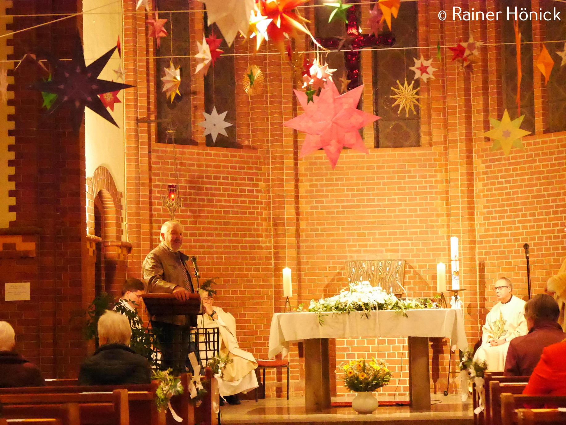 Vorsitzender des Herz-Jesu Vereins Rainer Hönick