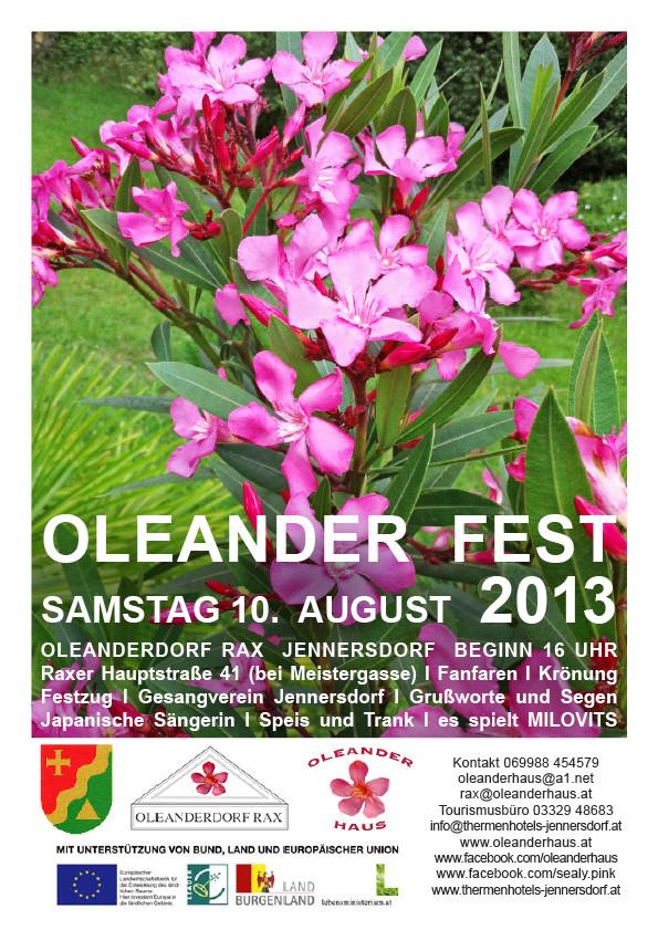 Oleander Fest 2013