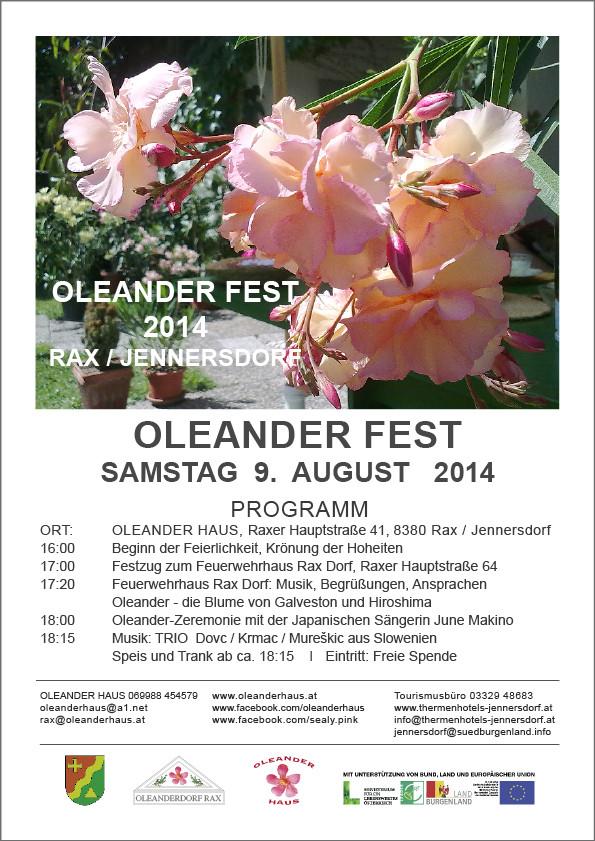 Oleander Fest 2014