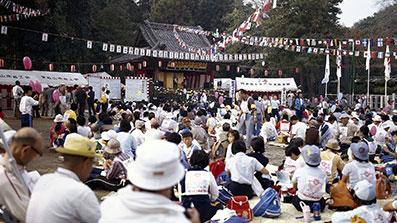 第5回大会 中央会場(箭弓稲荷神社)