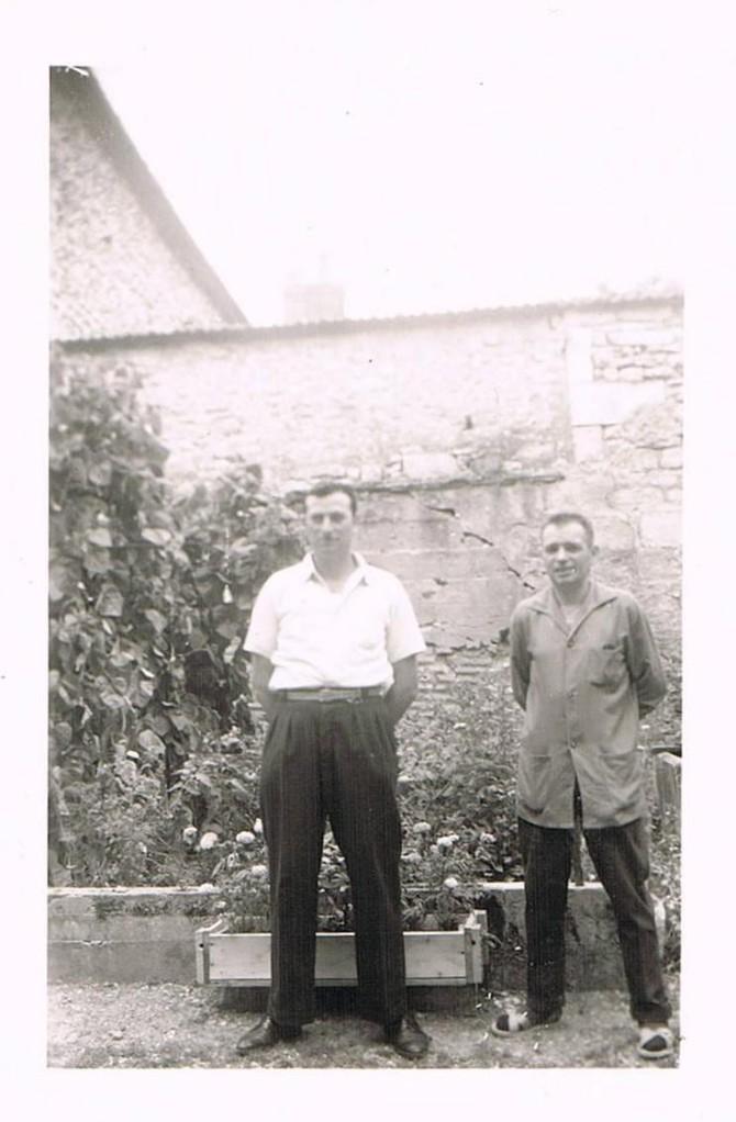 Papa et son frère Robert