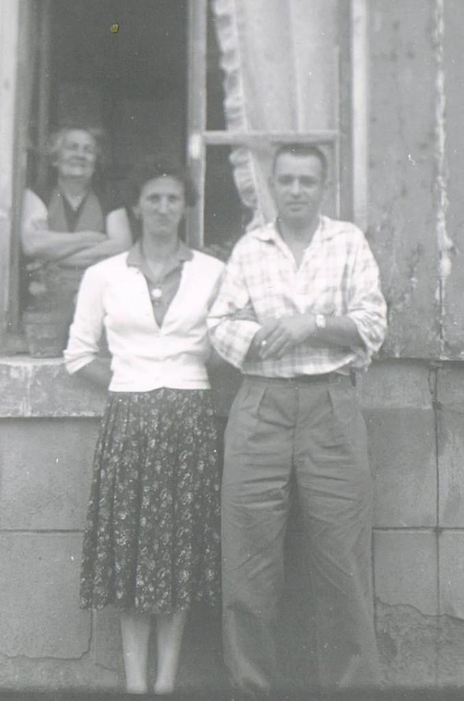 A Cosne avec la grand-mère