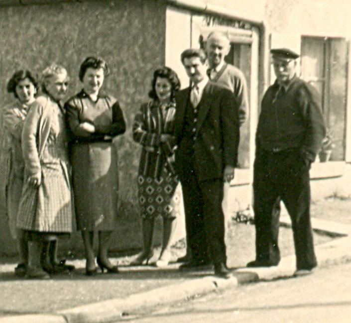à Maligny : visite des cousins de Bretagne
